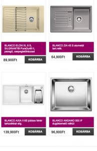 blanco mosogató webáruház