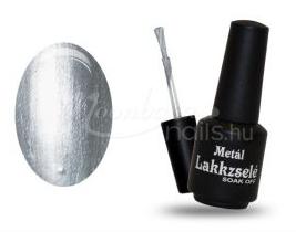 ezüst metál gél lakk