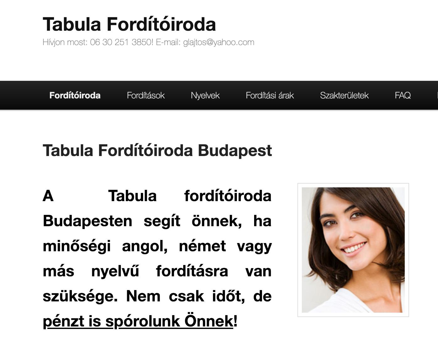 tabula fordító iroda